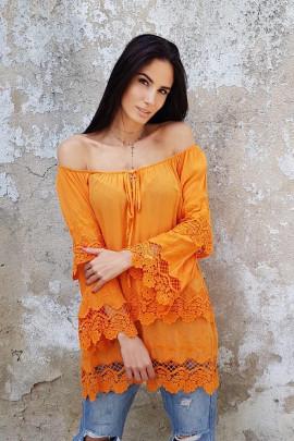 blúzka/halenka oranž.