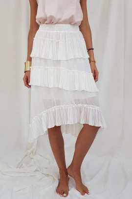 sukňa/sukne bie./bíl.