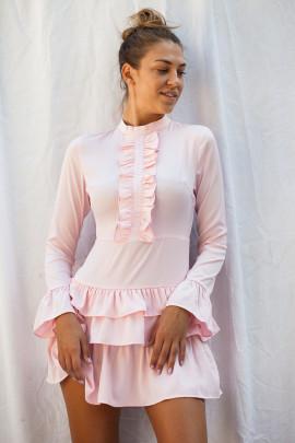 šaty ružové 36