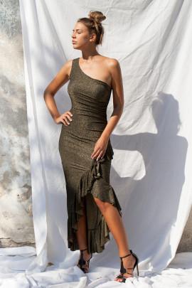 šaty zlaté