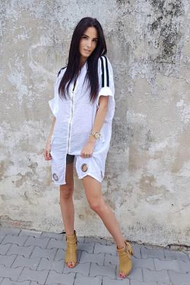 plášť biely/bílý