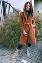 kabát hnedý L/XL