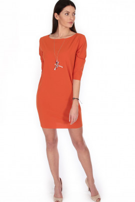 šaty/náhrd.oranž 36