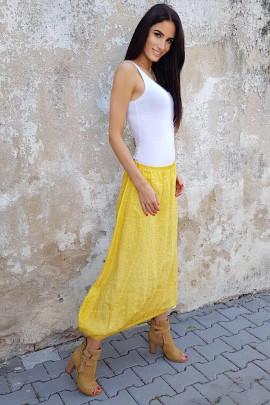 Sukňa ALKA žltá
