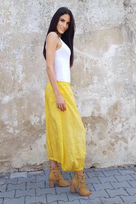 sukňa/sukne žltá/žlutá