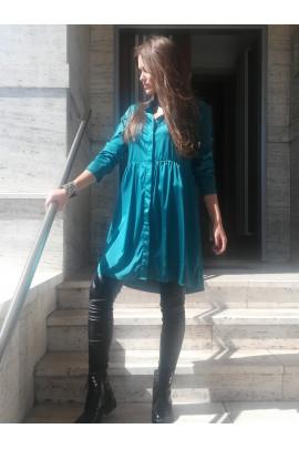 Šaty Célia smaragdové