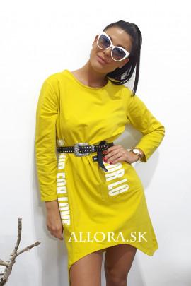 Šaty FORLA žlté