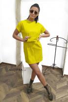 Šaty Alana limetkové