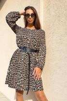 Šaty Enina hnedé
