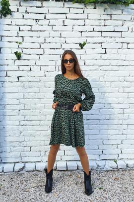 Šaty Enina zelené
