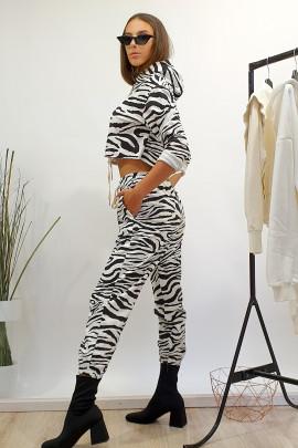 Tepláky Zebra