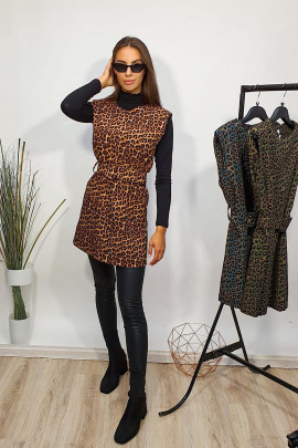 Šaty Líza hnedé