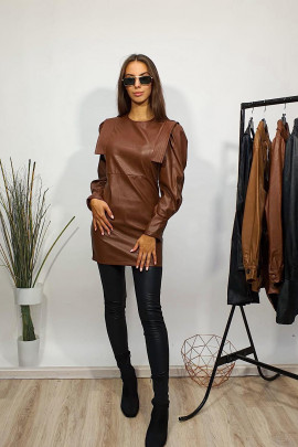 Šaty Pia hnedé