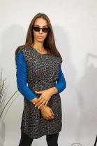 Šaty Líza modré