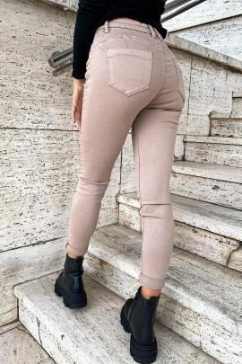 Nohavice Clara béžové