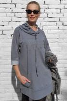 Šaty Vouge sivé