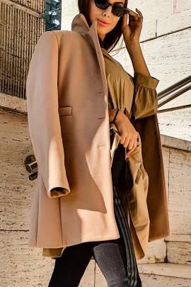 Kabát Filipa hnedý