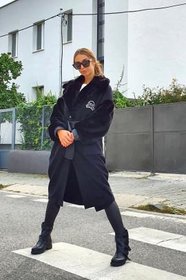 Kabát Nelson čierny