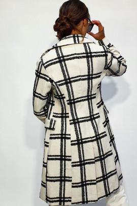 Kabát Pula biely