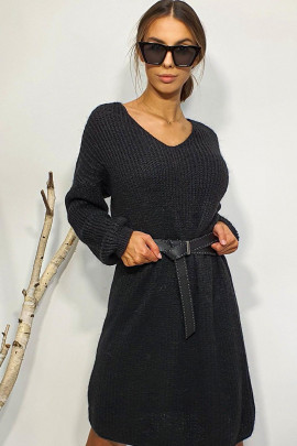 Šaty Abbondio čierne