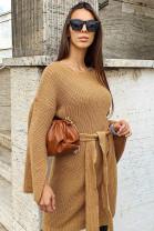Šaty RITA hnedé