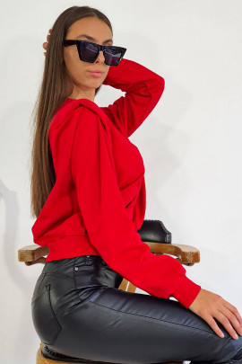 Mikina Luca červená