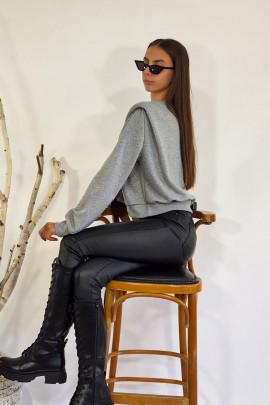 Mikina Luca sivá