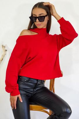 Mikina Luisa červená