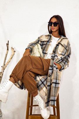 Kabáto-košeľa Matilde