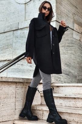Kabát Battisa čierny