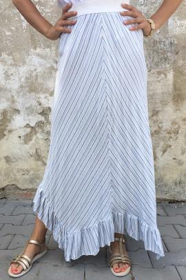 sukňa modrá