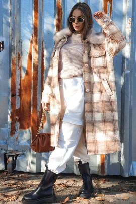 Kabát Ernesto béžový