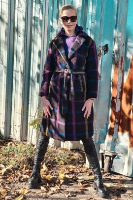 Kabát Norberto fialový