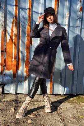 Kabát sivý