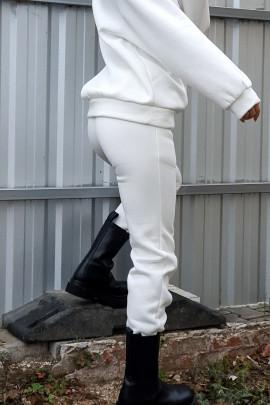 Tepláky Mina biele