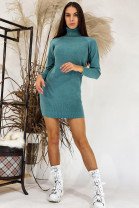 Šaty Alessandra olivové