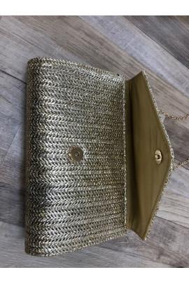 kabelka zlatá