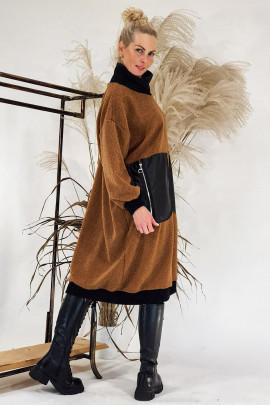 Šaty Tedy hnedé