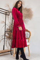 Šaty Jane bordové