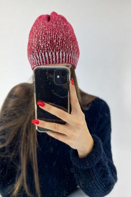 čiapka/čepice červená
