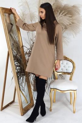 Šaty Navira kamel