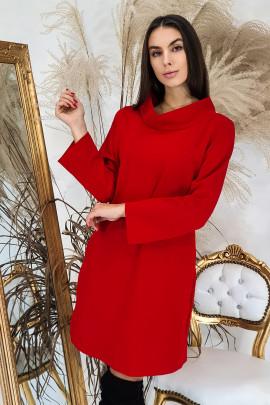 Šaty Navira červené