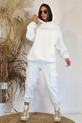Mikina Dakota biela