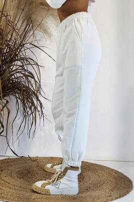 Tepláky Malen biele