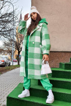 Kabát Adela zelený