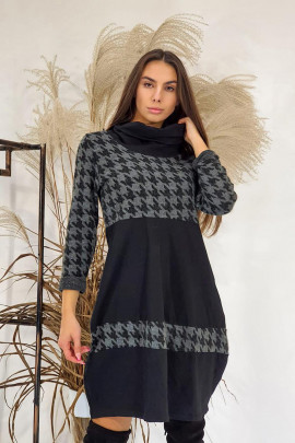 Šaty Duccio sivé