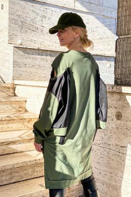 Šaty Amelie zelené
