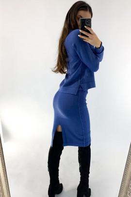Komplet Regina modrý