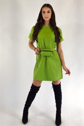 Šaty Alana jabĺčkovo-zelené