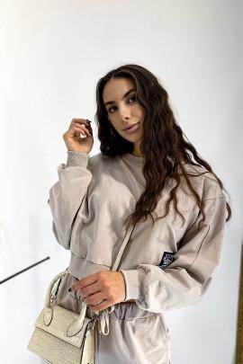 Mikina Verdiana béžová